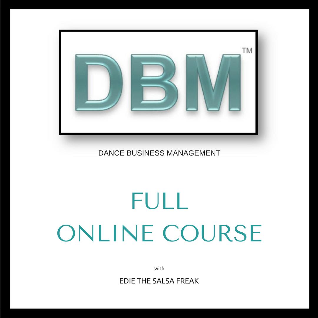 Edie, The Salsa FREAK - Dance Business Management